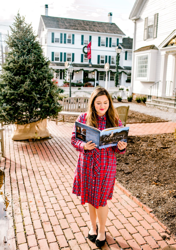 A Classic Holiday Plaid Dress with Draper James